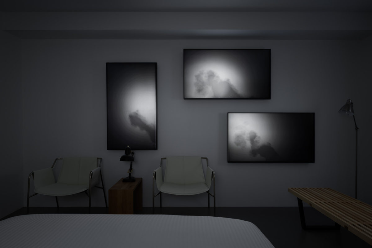 continuum, Daito Manabe (Rhizomatiks), BnA Alter Museum, Room Img 2, 2019 (photo Tomooki Kengaku)